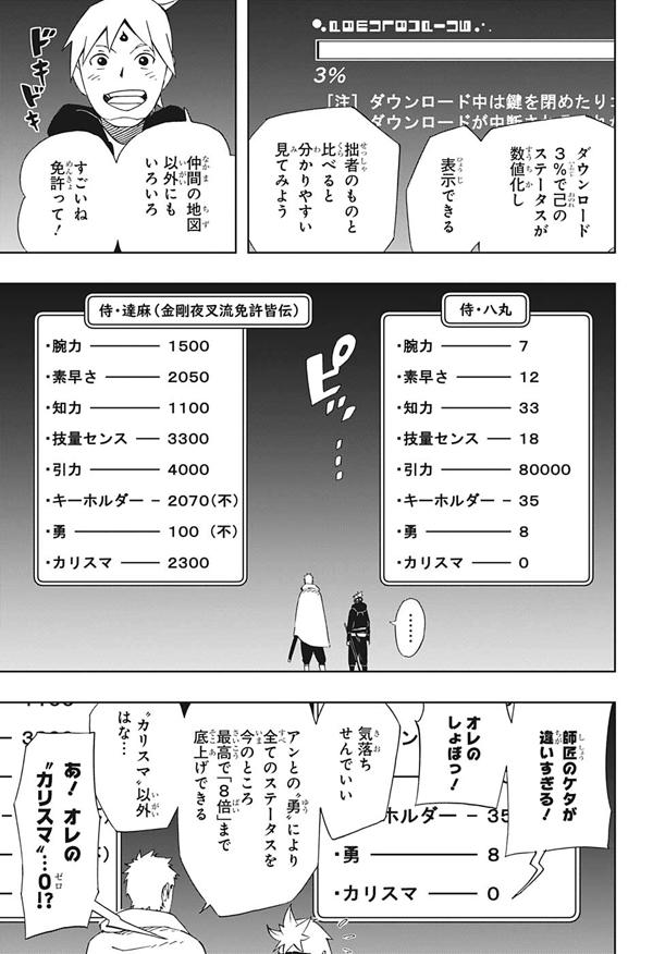 サムライ8 八丸伝 ネームを書き写すの馬鹿らしいので画像で失礼!!
