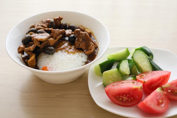 豚黒豆カレー