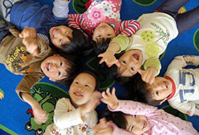ENGLISH EXPRESS INTERNATIONAL SCHOOL - 美しが丘校の園児たち