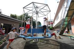 みどり野幼稚園の園庭