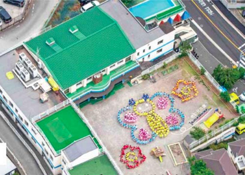 都筑ヶ丘幼稚園の外観