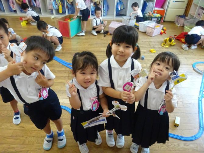 都筑ヶ丘幼稚園 遊び