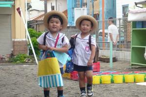 長福寺幼稚園に通園中の園児