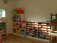 日吉台光幼稚園の教室の様子