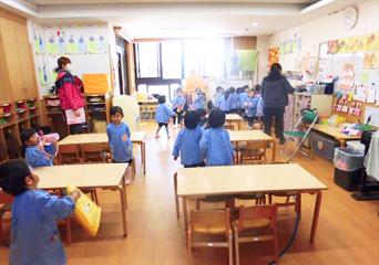 荏田南幼稚園 保育内容