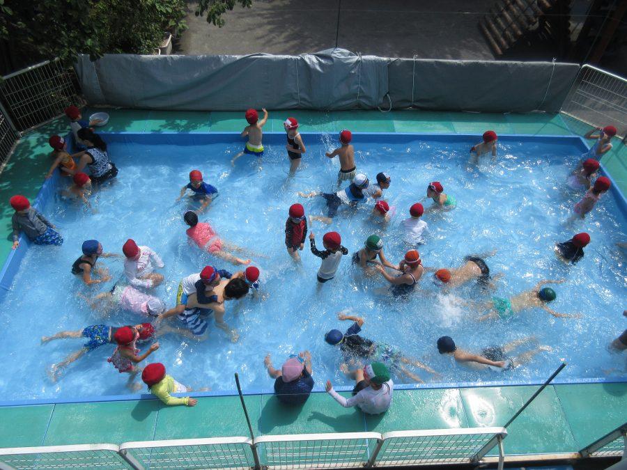 冨士見幼稚園園設備プール