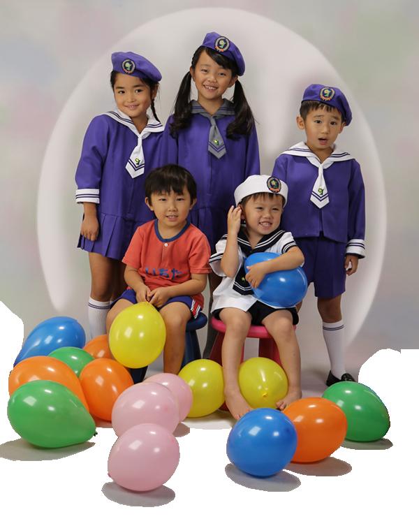 金の星幼稚園の制服