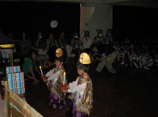 大楽幼稚園の花祭り
