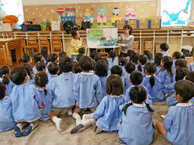 すぎの森幼稚園の年間行事