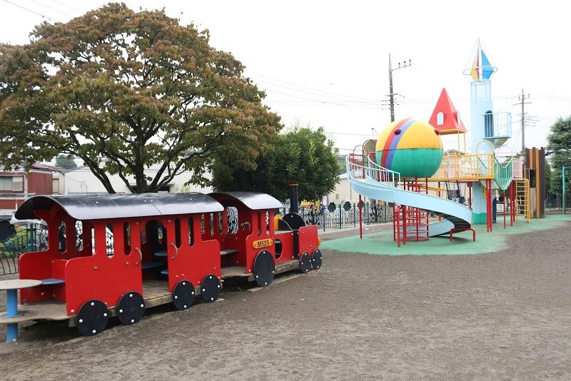 すぎの森幼稚園の園庭