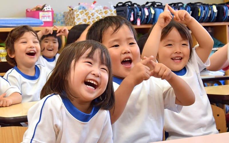 横浜黎明幼稚園 園児 授業 風景