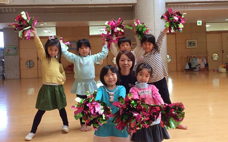 横浜黎明幼稚園のダンス教室