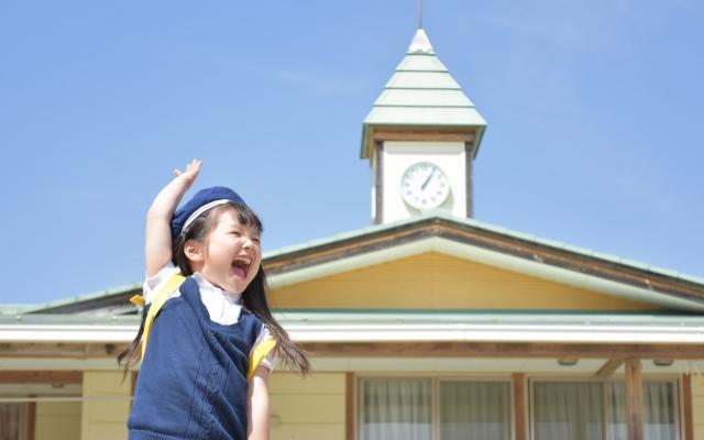 楽しそうな園児 幼稚園