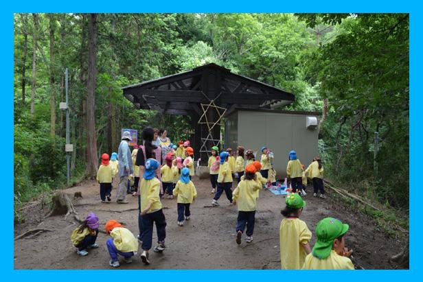 ナザレ幼稚園 外の風景