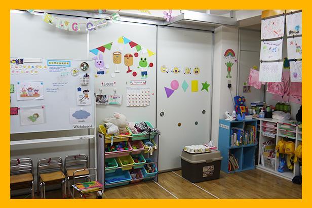 ナザレ幼稚園 教室の風景