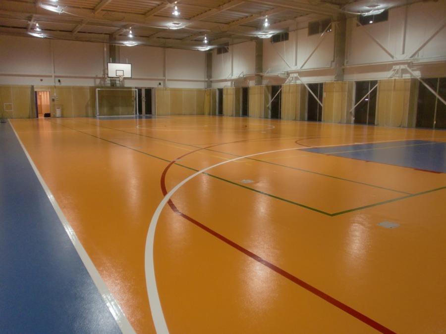 横浜バディスポーツ幼児園体育館