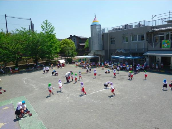 愛和のぞみ幼稚園園庭