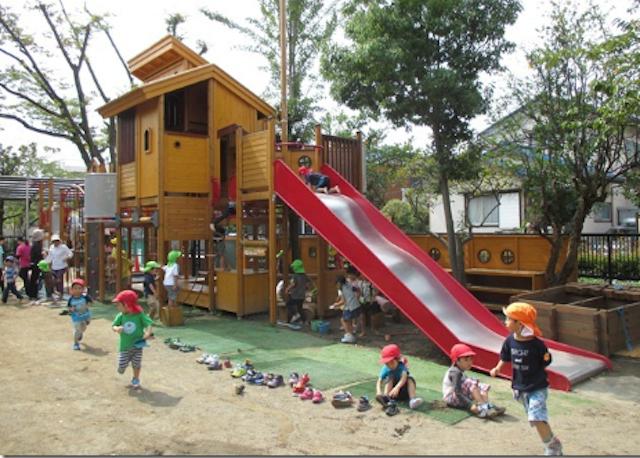 太陽第一幼稚園の遊具