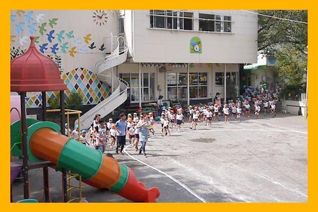 ナザレ幼稚園の運動会