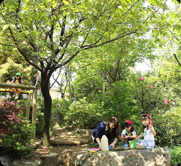 宮前幼稚園 園庭