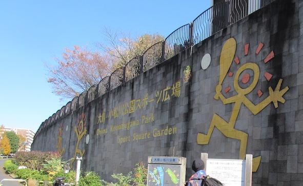 東京都立大島小松川公園 アスレチック