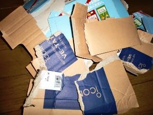 断捨離で不要な箱を処分しよう