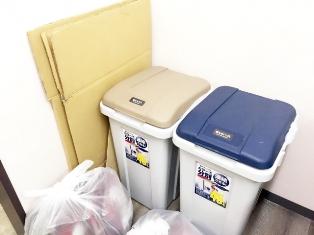 すぐに捨てられるものと、すぐ捨てられない物を選別する