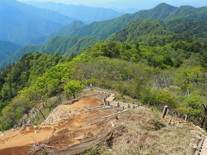 蛭ヶ岳から下山