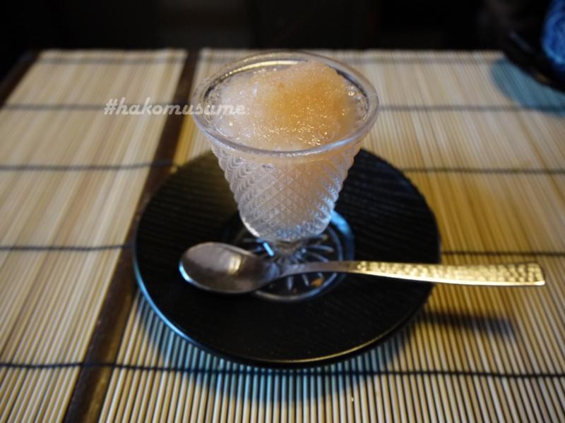 天ぷら-圓堂-水物-ピンクグレープフルーツ