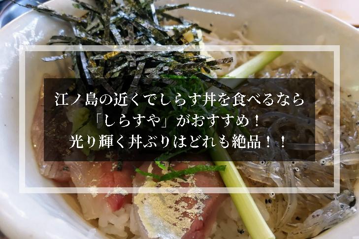 江ノ島 しらす しらすや おすすめ