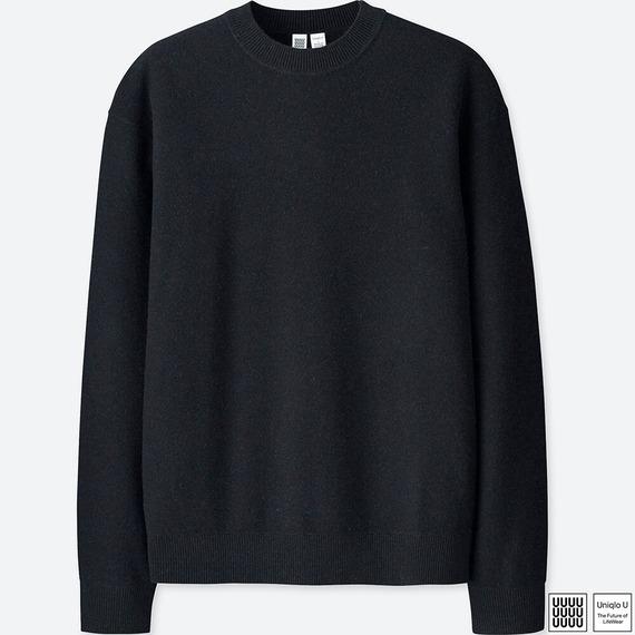 プレミアムクルーネックセーター UniqloU ユニクロU