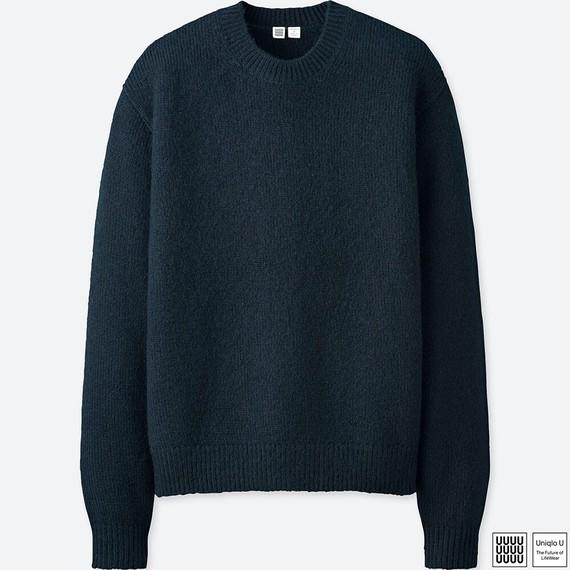 メランジクルーネックセーター ユニクロU UniqloU