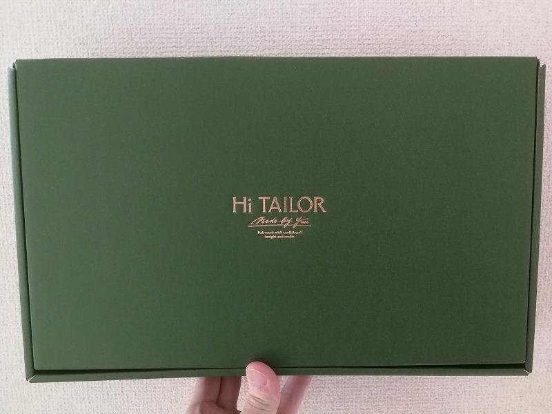 Hi TAILORでオーダーシャツを注文するイメージ画像