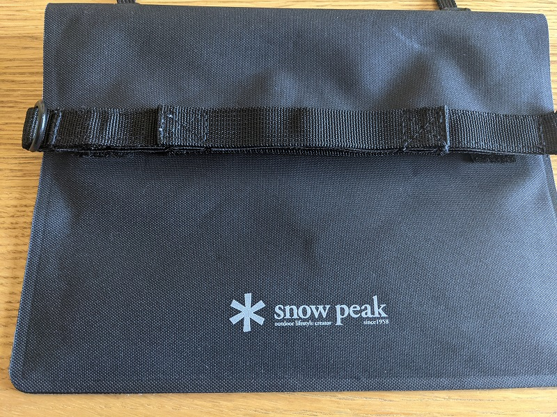 Snow PeakのTPU Sacoche one Blackのレビュー写真