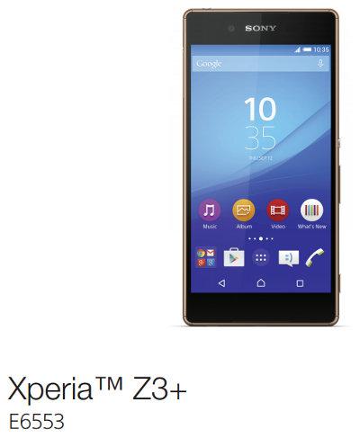 Xperia Z3+ (E6553)