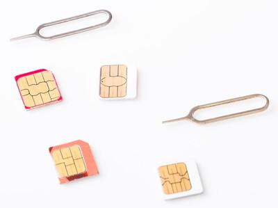 SIMカードのサイズ変更