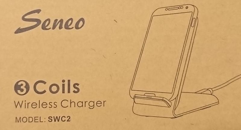 Seneo Qi ワイヤレス充電器 (SWC2)