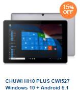 CHUWI Hi10 Plus CWI527 タブレット キーボード付き