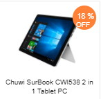 Chuwi SurBook CWI538 タブレット