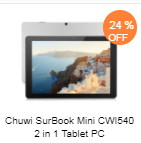 Chuwi SurBook Mini CWI540 タブレット