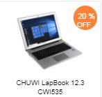 CHUWI LapBook 12.3 CWI535 ノートパソコン