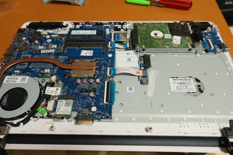 内蔵ディスクをSSDに交換