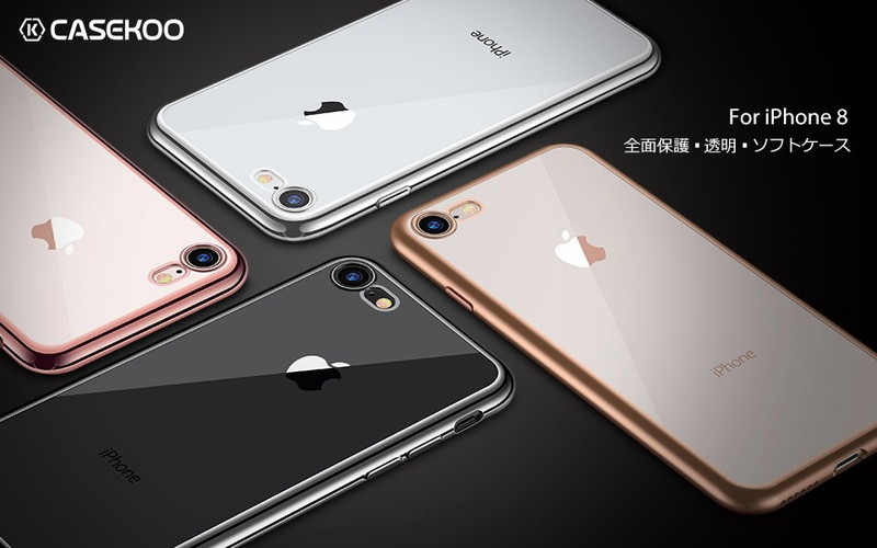 【CASEKOO】iPhone 8 / 7 TPUソフトケース