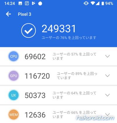 AnTuTu Benchmark v7.1.3