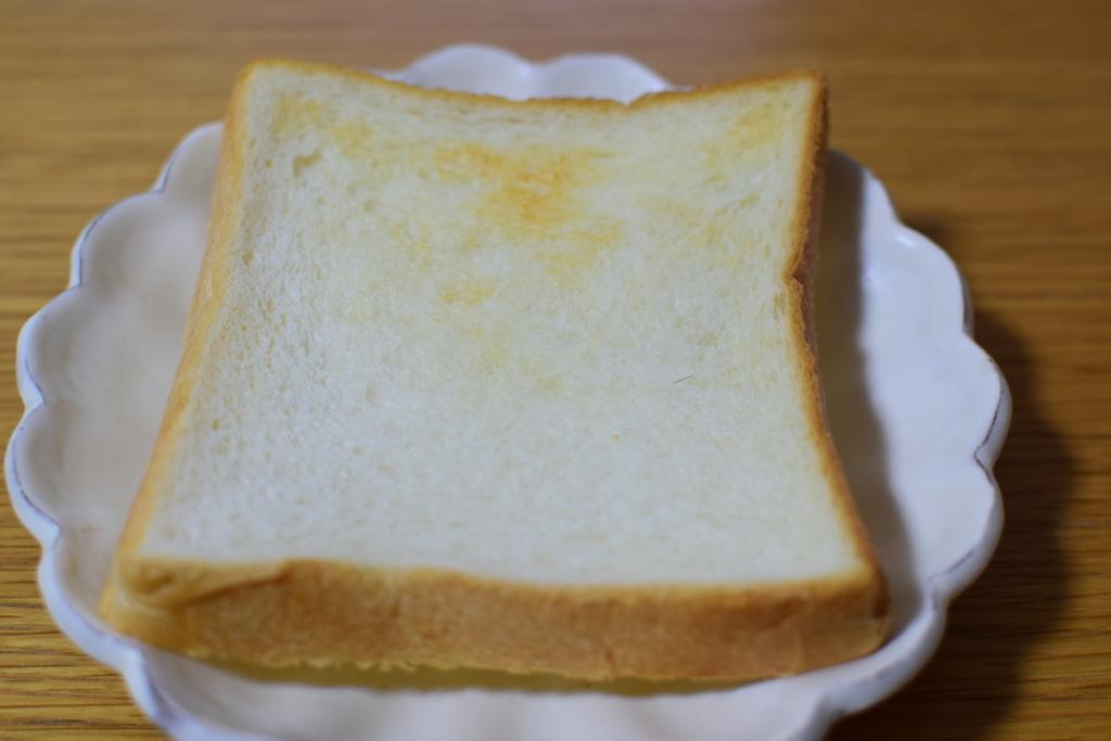 アンクルジャムのトーストした食パン