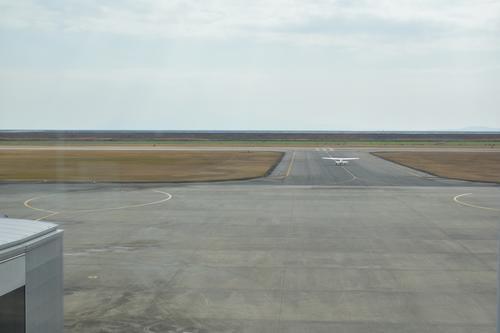 佐賀空港の滑走路