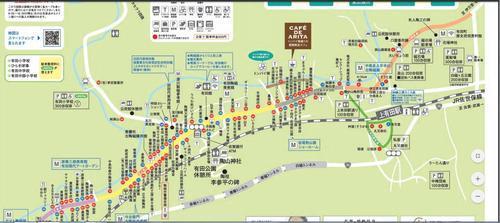 有田陶器市会MAP