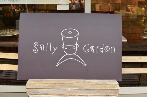 Sally Garden看板