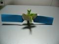 [折り紙][宇宙]「きずな」折り紙辛うじて完成1
