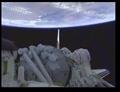[宇宙]カーゴベイの「きぼう」と地球